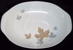 Noritake MAPLEWOOD 109 Oval Vegetable Serving Bowl Cook N Serve Dinnerware Excellent Condition by libertyhallgirl on Etsy