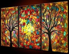 TJie Art Hand Painted Mordern Oil Paintings Wall Decor Abstract Tree Clouds Home Landscape Oil Paintings Splice 3-piece/set on Canvas TJie Art http://www.amazon.com/dp/B00VBNZA3M/ref=cm_sw_r_pi_dp_8WeSvb0RY9M04