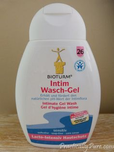Are you still using intimate wash or have you gone completely natural?