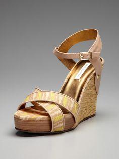 So cute. Naomi Wedge Sandal by Cynthia Vincent on Gilt.com