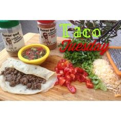 Nothing beats a good #tacotuesday  @flavorgod (spiced up my #grassfed beef) And @stupideasypaleo (Paleo tortillas) stopped in and grabbed a taco or two  #pico #paleo #primal #jerk #keepitpaleo #grainfree #glutenfree #love #mydayinfood #food #instafood #instagood K