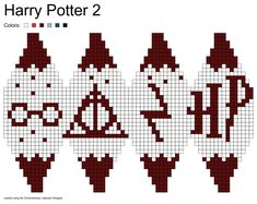 Knitting charts harry potter perler beads ideas for 2019 Harry Potter 2, Tricot Harry Potter, Cross Stitch Harry Potter, Knitting Charts, Knitting Stitches, Knitting Patterns, Crochet Patterns, Holiday Crochet, Christmas Knitting