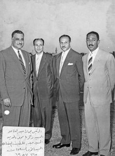 Old Pictures, Funny Pictures, President Of Egypt, Gamal Abdel Nasser, Hassan 2, Homer Odyssey, Memphis City, Ancient Egypt History, John Kennedy