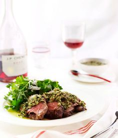 Australian Gourmet Traveller easy main course recipe for lamb with capers and anchovies : Gourmet Traveller Magazine Mobile Recipes With Fish Sauce, Mint Recipes, Lamb Recipes, Sauce Recipes, Gourmet Recipes, Real Food Recipes, Easy Main Course Recipes, Anchovy Recipes, Fish And Meat