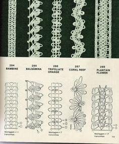 Lovely crochet endings