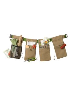 Garden Tool Belt | Bloomin Smart Tool Belt--I could make one of these!