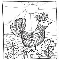 Deze Vogel Kleurkaart Is Leuk Om In Te Kleuren Voor Zowel Kinderen Als Volwassenen De