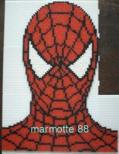 Spiderman hama beads by marmotte88130