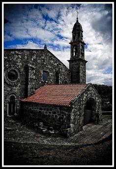Muxía: San Xiao de Moraime church Galiza