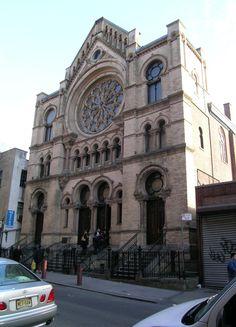 Eldridge St. Synagogue - NYC - Where New York City Judaism began.