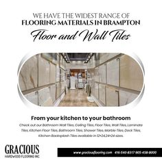 Looking for a new flooring material for your home? Check out our Bathroom Wall Tiles, Ceiling Tiles, Floor Tiles, Wall Tiles, Laminate Tiles, Kitchen Floor Tiles, Bathroom Tiles, Shower Tiles, Marble Tiles, Deck Tiles, Kitchen, Backsplash Tiles available in 12x24, 24x24 PHONE: 416-540-8317, 905-458-8000 EMAIL: GRACIOUSHARDWOOD@YAHOO.COM Cheap Hardwood Floors, Laminate Flooring, Kitchen Flooring, Kitchen Backsplash, Ceiling Tiles, Wall Tiles, The Tile Shop, Flooring Store, Marble Tiles