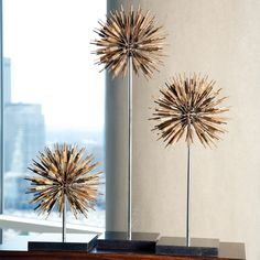 THE DESIGN NETWORK | Golden Dandelion #TheDesignNetwork #ShopTDN #homedecor