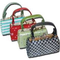 """100% PVC Change Purses Multicolor #BL-70 by Marshal. $3.30. Material: PVCSize: 4? x 1.75? x 2""""Other features: Twist snap enclosure  This listing is for only one item. We will send whatever assorted colors available (May not be pictured)"""