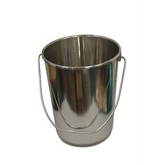 Laundry Products & Supplies - Briscoes - Stainless Steel 12 Litre Bucket
