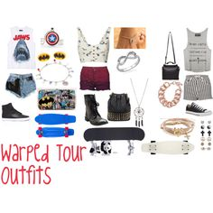 Eh they okay Warped Tour, Grunge Fashion, Tours, Polyvore, Outfits, Suits, Grunge Clothes, Kleding, Grunge Outfits