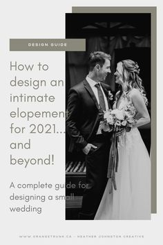 Elopements and intimate weddings are not only mandatory, they are trending. Lets get your elopement designed to be a beautiful day you and your partner will cherish.