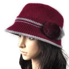 Latest Winter Caps For Indian And pakistani Girls (9)
