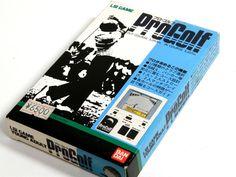 80s Retro Bandai LCD Handheld Game Pro Golf Boxed MIJ 1984 Great Condition #Bandai