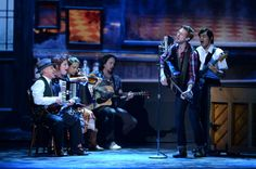The cast of 'Once The Musical' performs onstage at The 67th Annual Tony Awards 2013