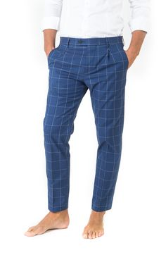berwich for men - ss16 checked