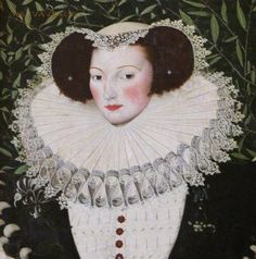 Attributed to Robert Peake the elder (c 1551 – 1619) Ann Vavasour (1560-1650) National Trust Collections Hatchlands Park, Surrey 1580-90