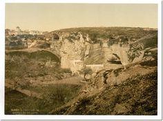 Jeremiah's grotto, Jerusalem, Holy Land