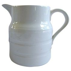 Check out this item at One Kings Lane! English Ironstone Kitchen Jug