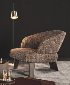 Creed Large Armchair by Minotti