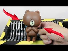 Experiment Shredding Squishy Teddy Bear Lego And Toys | The Crusher - YouTube