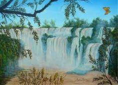 pintura em tela de cachoeiras ile ilgili görsel sonucu