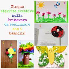 Spring: five crafts for kids