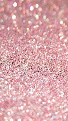 Pink Glitter Background - captainswana xoxo
