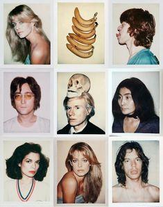 Andy Warhol's 85 Polaroid Portraits: Mick Jagger, Yoko Ono, O.J. Simpson & Many Others (1970-1987)