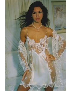 531309314b Wedding night and time to look your best in the bedroo with a seductive  silk and lace chemise - part of the Diki by Diane Rubach range.
