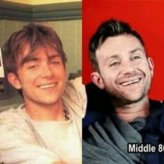 Damon Albarn...then and now...still hot to me!!