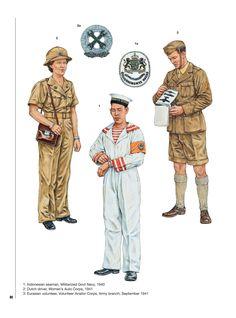 Vintage Dutch East Indies Militart Recruitment Poster Print A3//A4