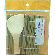 Daiso Hand Rolled Sushi Mat And Rice Paddle (Temakizushi Set) 50g