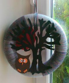 Owl Workshop, Owl, Wreaths, Halloween, Home Decor, Homemade Home Decor, Atelier, Door Wreaths, Owls