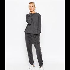 9c205ae4d84a ASOS White knit jumpsuit. ASOS White premium line. The soft cotton knit  jumpsuit feels