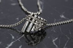 Image of Eolian Talent Pipes Necklace (Kingkiller Chronicle Fan? VISIT eoliantavern.com)