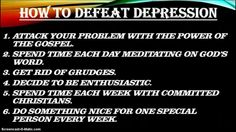 #How To Defeat Depression