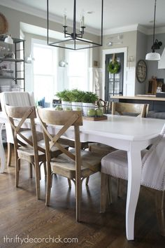 BIG Huge Exciting News Kitchen Table CenterpiecesSimple CenterpiecesKitchen TablesDining TableDining RoomsCondo