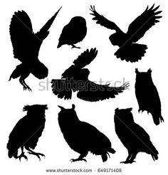 Owl Flying Silhouette | www.pixshark.com - Images ...