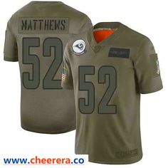 Nike Los Angeles Rams #52 Clay Matthews Camo Men's Stitched NFL Limited 2019 Salute To Service Jersey