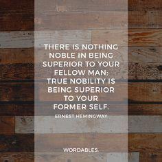 Hemingway Quote 01