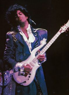 "Classic Prince | 1984/85 Purple Rain Tour ""Prince's biggest fear is being ... normal."" - a former manager was once quoted in a magazine."