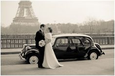 1920's vintage style Paris wedding  | Photography © Juliane Berry via French Wedding Style