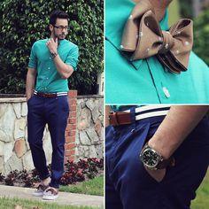 H Shirt l Wesc Trousers l Vans Shoes l Banana Republic Bow Tie l H Belt l English Laundry Watch