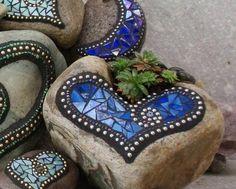 mosaik basteln anleitung holzhaus bunt