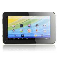 JXD S6600B Allwinner A13 Cortex A8 1.2GHz 7 Inch Android 4.2 Tablet